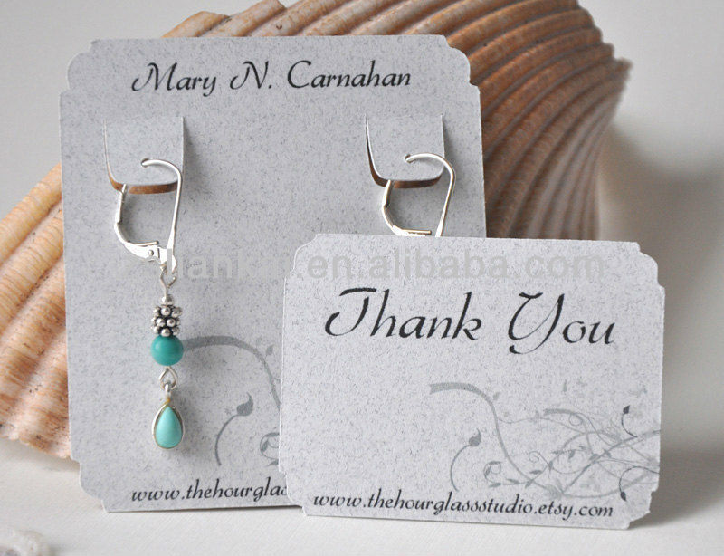 New Design Jewelry Hang Tags - Buy Custom Printed Jewelry Hang ...