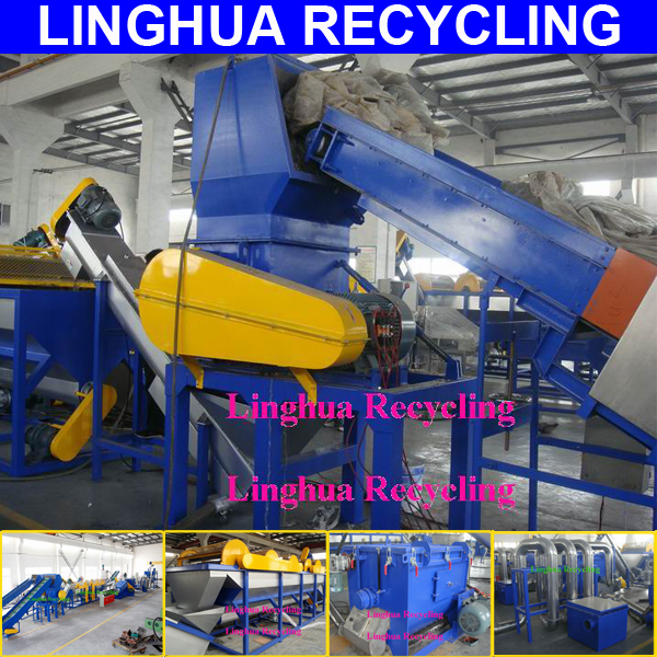 flexible new condition municipal waste sorting line