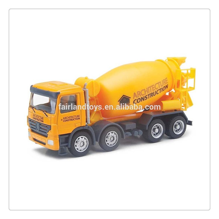 YL6433 custom replica metal cement mixer toy truck,scale 1 64 die cast concrete truck toy,diecast construction mixer truck model