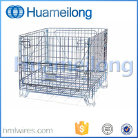 High Quality Metal Stackable Wire Mesh Basket Container