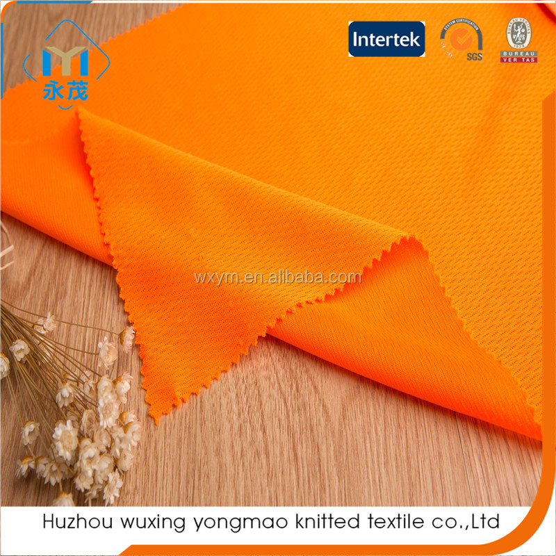 2017 top sale weft knit sport fabric polyester