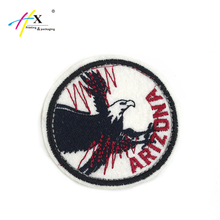 OEM eagle animal patch work blouse designs for uniform iron on patches