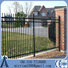 Trade Assurance prefabricated powder coated galvanized steel fence