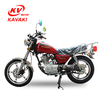 Hot sale in Africa and Mid-east made in Guangzhou 125cc KAVAKI GN125 motorcycles