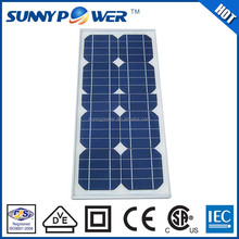 VDE Approved 25w solar panel suppliers