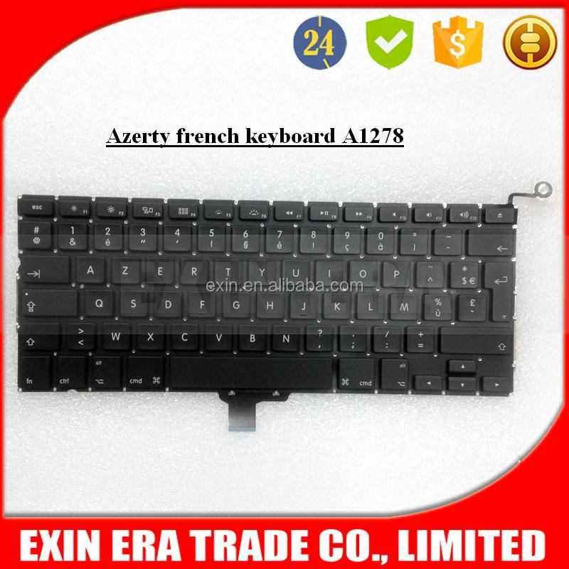 Genuine For Apple MacBook Pro 13 A1278 Laptop Keyboard FRENCH AZERTY 2009-2012