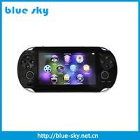 4.3 inch hot sale high quality 4gb game player with mp5 firmware upgrade