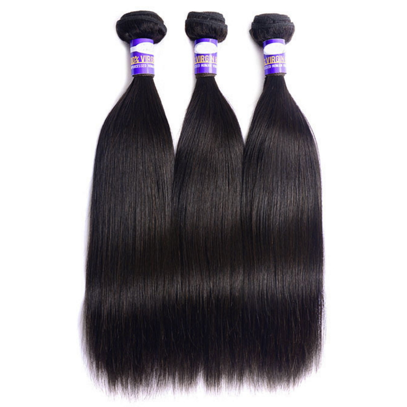Peruvian Virgin human Hair Straight Unprocessed