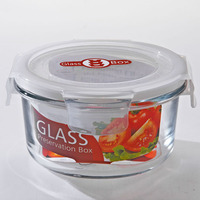 Storage Boxes&Bins Type and Freshness Preservation Food Container Feature 420ml Glass storage bowl