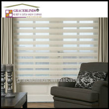 double layer day and night window curtains