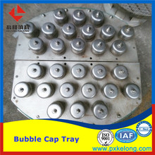 Metallic Metal Bubble Cap Tray