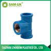 PVC brass threaded copper insert pipe tee fittings for pvc pipe