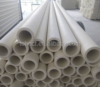 Industrial large diameter purity 99.7% high alumina ceramic tube