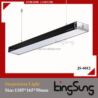 2015 Newest T5 Steel Pendant Office Lighting Black or White Iron Fixtures