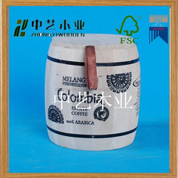 2015 china mnuafture handmade wooden buckets for sale