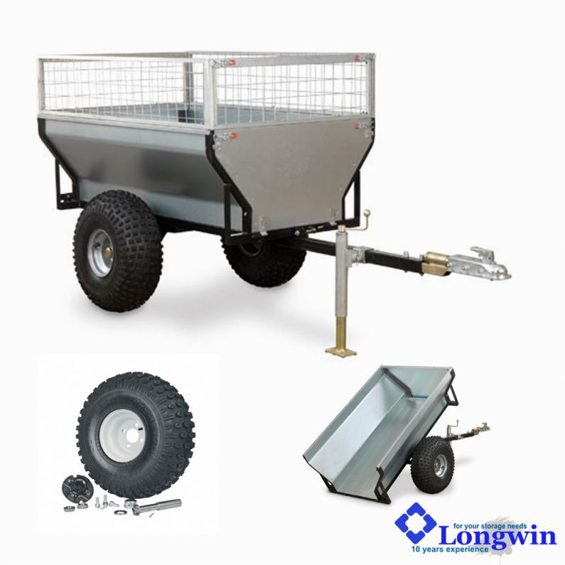 Tipping trailer, trailers snowmobile