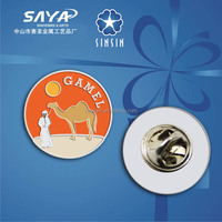 China supplier camel metal souvenir badge/pin for gift