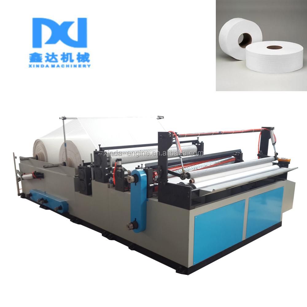 Ww-c Jumbo Roll Toilet Paper Equipment,Jumbo Slitting And Rewinding ...
