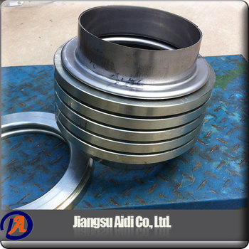 China wholesale market stainless steel bellows flanged stainless steel hose