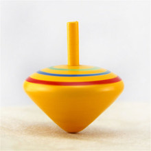 Handmade wooden spinning top,super top toys,wind up spinning top toy