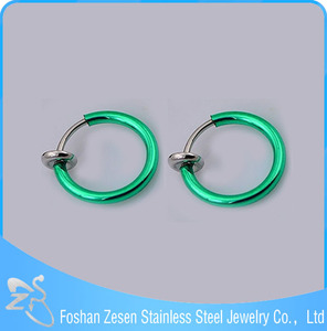 Factory Sell Spring Nose Jewelry Fake Septum 16 Gauge Nose Rings