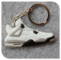 jordan 4 sneaker basketball shoe key chain wholesale