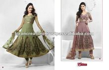 Olive & Onion pink salwar suit Material