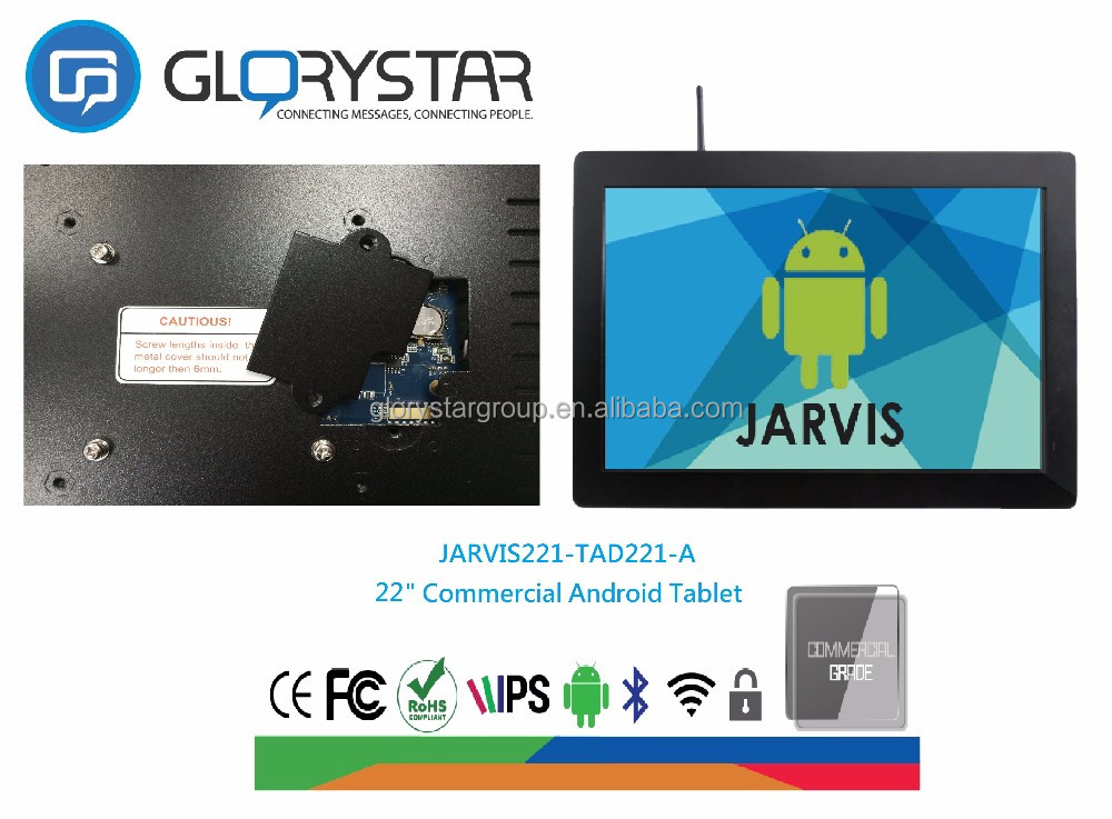 Tablet kiosk 21 inch advertising display LCD kiosk tablet/mid 970 android tablet pc