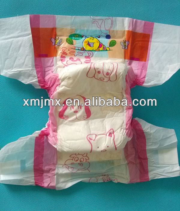 2014 Good China Manufacturer Free Sample Useful Soft Top Quality Oem Baby Joy Diapers