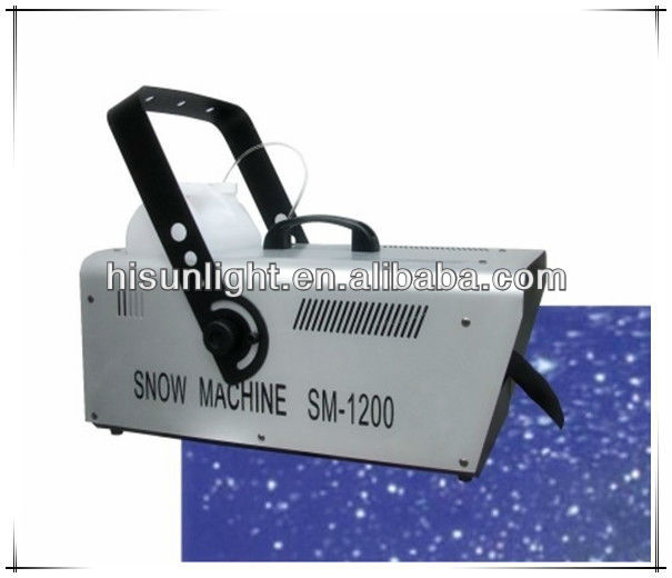 1200W Snow Machine, Artificial Snow Effect maker for stage show