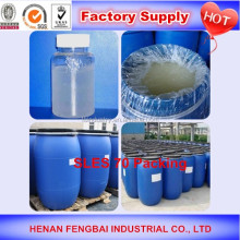 Hot sale china factory sles70 for gel soap shampoo professional manufacturer