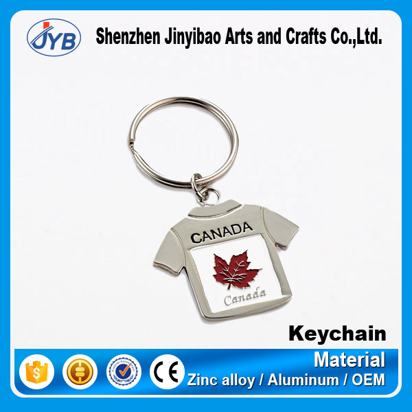 custom made metal cheap price key ring for sale