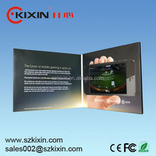 Video Card(4.3inch,5inch,7inch) for wedding invitation