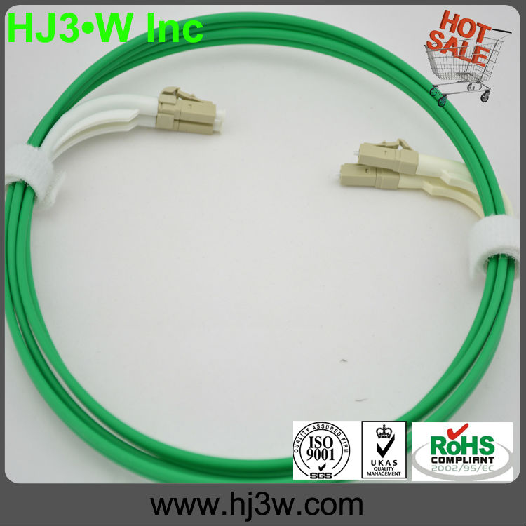 LC-LC simplex Optical fiber Patch Cords,Bend boot,Strictly followed NTT,GR-326-CORE,ROHS