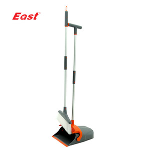 EAST High Quality Broom And Dustpan Detachable Handle Plastic High Quality Broom And Dustpan Set