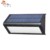 Weatherproof high lumen 48 LED wall mounted triangle pir security light solar motion sensor light