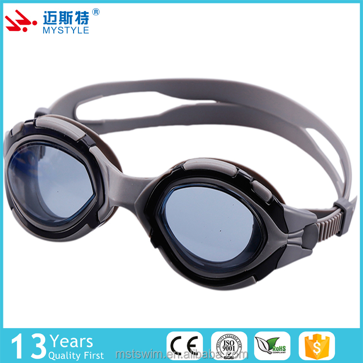 Low price wholesale safety eyecup and strap swimming goggles