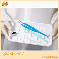 Teeth inspecting blister plastic bag mouth speculum