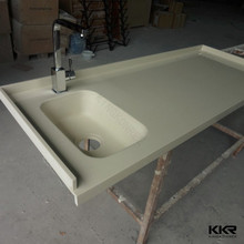 solid surface granite kitchen table , solid surface bar translucent countertop