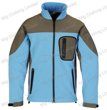 Waterproof softshell jacket for Hiking