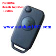 Remote Flip Folding Key Shell Case 1Button Replacement For Mercedes Benz W168 W124 1984-2004