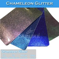 CARLIKE High Quality Sino Glitter Chameleon Vinyl Film Car Wrap