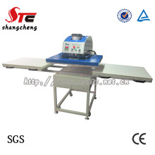 CE Approved Double station Pneumatic T Shirt Printing Heat transfer Mchine