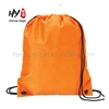 Hot sale backpack women non woven with zipper pockets drawstring bag