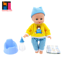 china import toys vinyl material 15 inch little boy lifelike reborn baby dolls for sale
