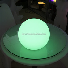 remote controlled light moon ball /light globe with multicolor lights