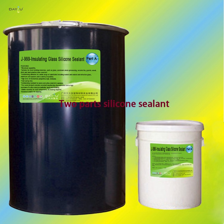 Two components waterproof polyurethane adhesive gp silicone sealant tile glue for rubber floor