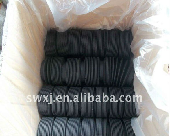 Foam soft rubber gasket for sealing metal iron drums barrels buckets containers