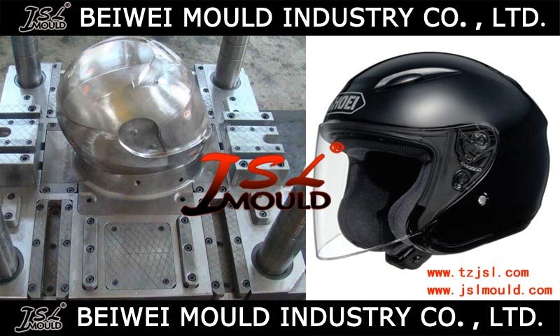 motorcycle plastic full face open face helmet mould