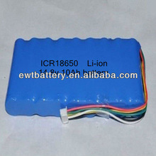 Competive price 14.8v 10ah ICR 18650 li-ion rechargeable battery pack